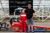 Jr. Dragster Novice 3rd Carly Welch